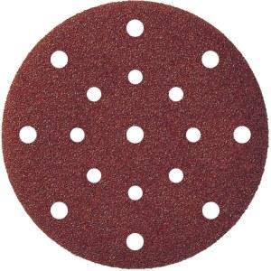 Smilšpapīrs ekscentra slīpmašīnai Klingspor; PS 22 K; 150 mm; K180; 5 gab.