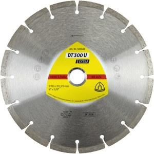 Dimanta griešanas disks sausai griešanai Klingspor DT 300 U Extra; 300x2,8x30,0 mm