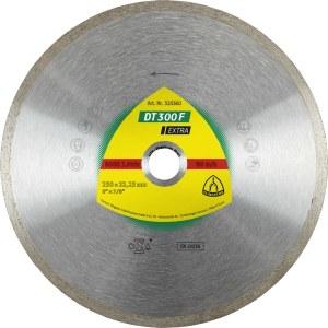 Dimanta griešanas disks mitrai griešanai Klingspor DT 300 F Extra; 200x1,9x30,0 mm