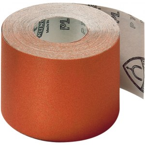 Smilšpapīra rullis Klingspor; PL 31 B; 115x50000 mm; K80; 1 gab.