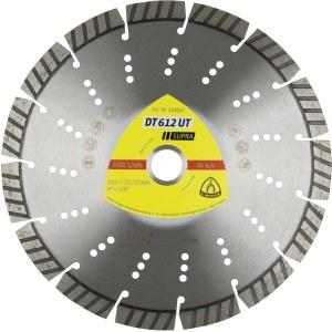 Dimanta griešanas disks sausai griešanai Klingspor DT 612 UT Supra; 115x2,4x22,23 mm