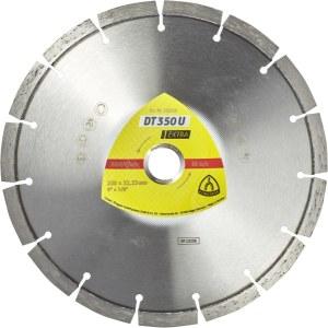 Dimanta griešanas disks sausai griešanai Klingspor DT 350 U Extra; 300x2,8x20,0 mm