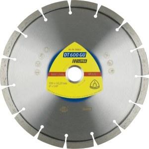 Dimanta griešanas disks sausai griešanai Klingspor DT 600 GU Supra; 230x2,6x22,23 mm