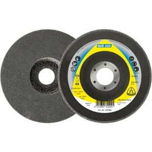Filca disks tīrīšanai Klingspor NUD 500; CO; 125x13x22,23 mm; 5 gab.