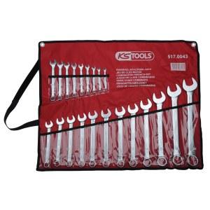 Uzgriežņu atslēgu komplekts KS tools 6-32 mm; 21 gab.
