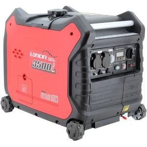 Ģenerators Loncin LC3500i; 3,5 kW; benzīna + eļļa
