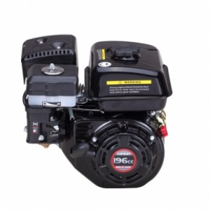 Dzinējs Loncin LCG200F-A; 4,1 kW; benzīna + eļļa
