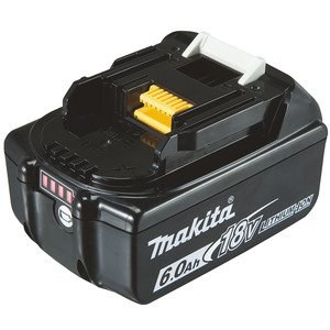 Akumulators Makita BL1860B; 18 V; 6,0 Ah; Li-ion
