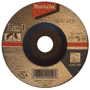 Abrazīvais griešanas disks Makita B-21244; 125x3,2 mm metālam