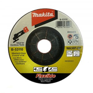 Slīpēšanas disks Makita B-53110; 125x4 mm;