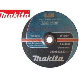 Slīpēšanas disks Makita A 24 R; 230x6 mm
