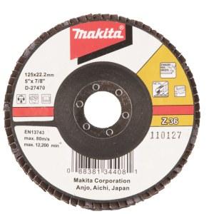 Lāpstveida slīpēšanas disks Makita D-27470; 125 mm