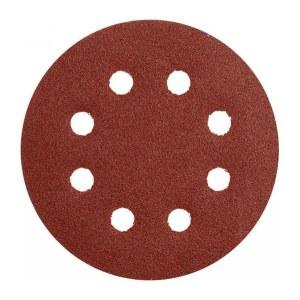 Smilšpapīrs ekscentra slīpmašīnai Makita D-54514; K80; 125 mm; 10 gab.