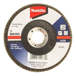 Lāpstveida slīpēšanas disks Makita Economy; 125 mm; A120