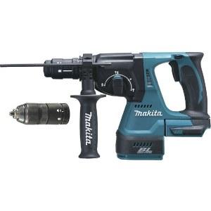 Perforators Makita DHR243Z; 2,0 J; SDS-plus (bez akumulatora un lādētāja)
