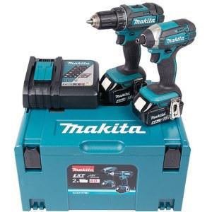 Набор инструментов Makita DLX2127MJ (DDF482+DTD152); 18 V; 2x4,0 Ah аккум.