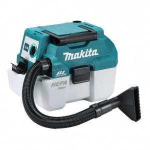 Putekļsūcējs Makita DVC750LZ; 18 V; HEPA (bez akumulatora un lādētāja)
