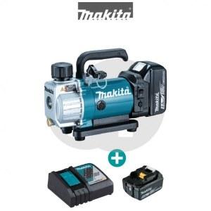 Akumulatora vakuuma putekļsūcējs Makita DVP180RT; 18 V; 1x5,0 Ah akum.