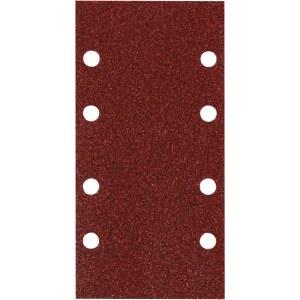 Slīpēšanas papīrs plaknes slīpmašīnai 93x230 mm; K100; 10 gab.