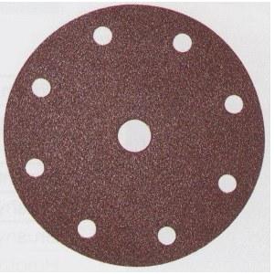 Smilšpapīra diski Velcro Backed 150 mm; K80; 10 gab.