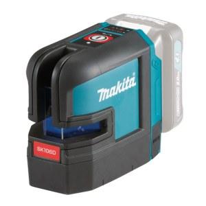 Krustveida lāzera nivelieris Makita SK106DZ; 10,8 V (bez akumulatora un lādētāja)