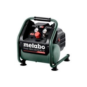 Akumulatora gaisa kompresors Metabo 160-5 18 LTX BL OF; 18 V (bez akumulatora un lādētāja)