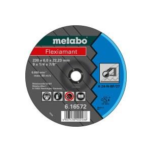 Slīpēšanas disks Metabo A 24-N; 125x6 mm; 1 gab.