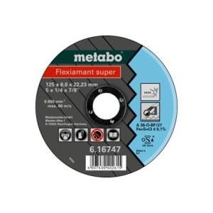 Slīpēšanas disks Metabo A30-O; 125x6 mm