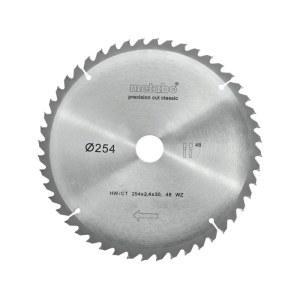 Griešanas disks kokam Metabo Classic;  Ø254 mm
