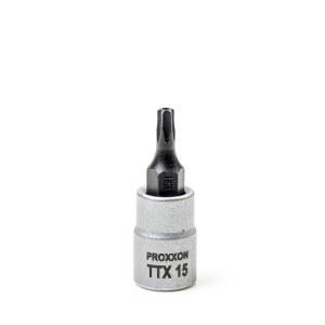 Uzgriežņu galviņa ar uzgali Proxxon 23756; 1/4''; TTX 15