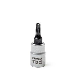 Uzgriežņu galviņa ar uzgali Proxxon 23758; 1/4''; TTX 20