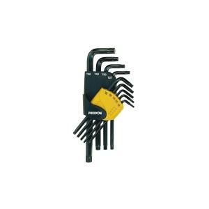 Seškanšu atslēgu komplekts Proxxon Allen; TX8-50; 9 gab.