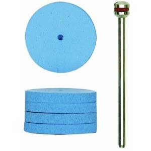 Pulēšanas disks Proxxon; 22 mm; 10 gab.