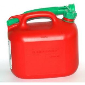 Degvielas tvertne  sarkana (5l)