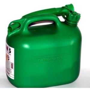 Degvielas tvertne  zaļa (5l)