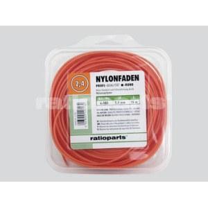 Aukla trimmerim Nylon line (2,4 mm/15 m) oranža