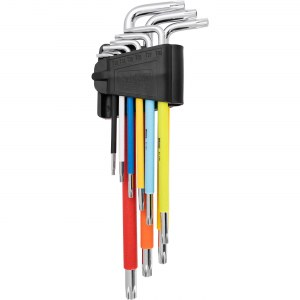 Seškanšu atslēgu komplekts Richmann C6602; T10-T50; 9 gab.