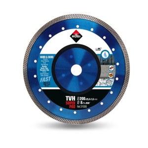 Dimanta griešanas disks mitrai griešanai Rubi TVH 200 SuperPro; 200 mm