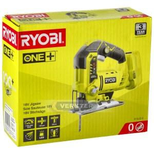 Akumulatora figūrzāģis RYOBI R18JS-0; 18 V (bez akumulatora un lādētāja)