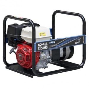 Maiņstrāvas ģenerators SDMO HXC6000-C5; 5,6 kW; benzīna + eļļa