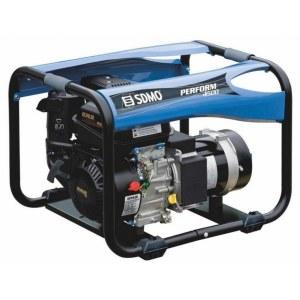 Ģenerators SDMO PERFORM 4500; 4,2 kW; benzininis + eļļa