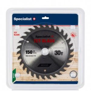 Griešanas disks kokam Specialist Wood; 150x1,4x20/16 mm; Z30