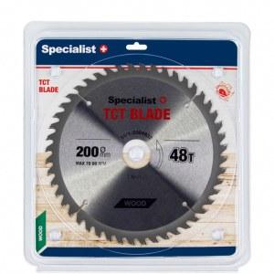 Griešanas disks kokam Specialist Wood; 200x1,4x32 mm; Z48