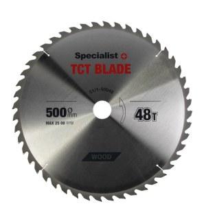 Griešanas disks kokam Specialist Wood; 500x3x50 mm; Z48