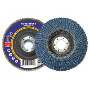 Lāpstveida slīpēšanas disks Specialist; 125 mm