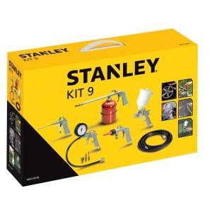 Kompresora instrumentu komplekts krāsošanai un pūšanai Stanley KIT9