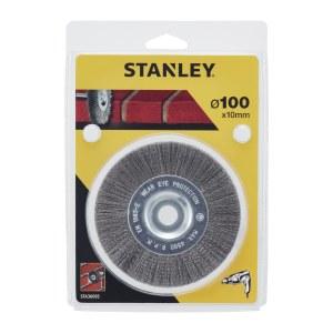 Apaļa stiepļu birste Stanley; 100x10 mm