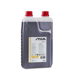 Eļļa degvielas maisījumiem divtaktu motoriem Stiga 1111923001; 1L (ar dozatoru)