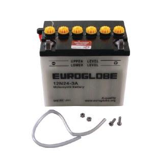 Akumulators Stiga 1134289201; 12 V; 24 Ah