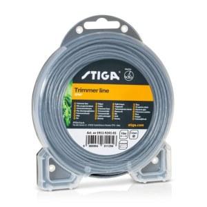 Aukla trimmerim Stiga 2,0 mm/15 m